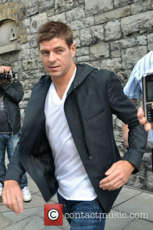Steven Gerrard and Keith Duffy 5