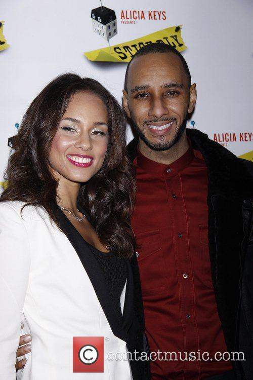 Alicia Keys and Swizz Beatz 8