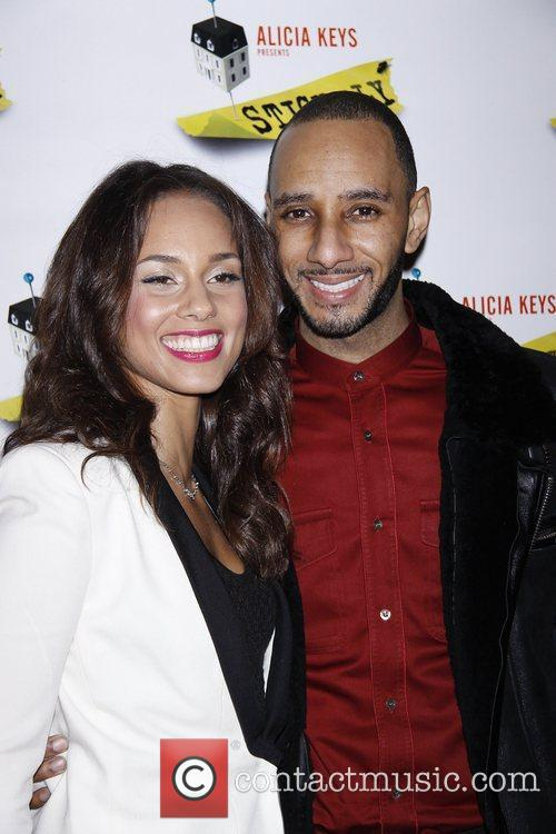 Alicia Keys and Swizz Beatz 4