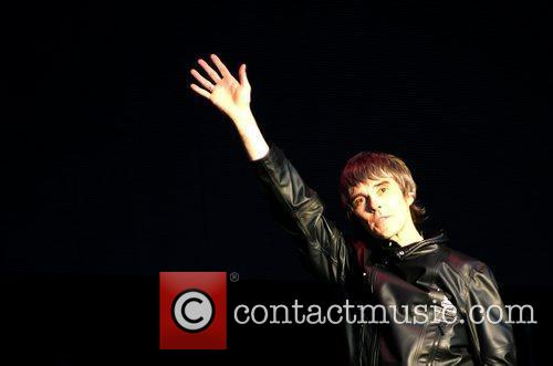 Ian Brown The Stone Roses perform live at...