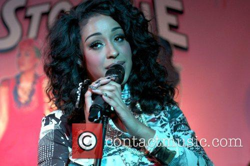 Alexandra Buggs of Stooshe at the 'Black Heart'...