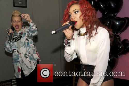 Karis Anderson and Courtney Rumbold of Stooshe at...