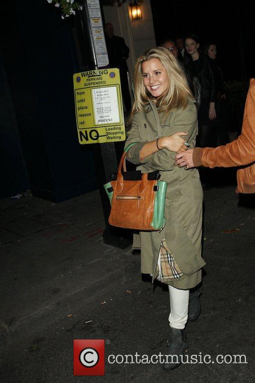 Caggie Dunlop leaves the Storm Model Agency 25th...