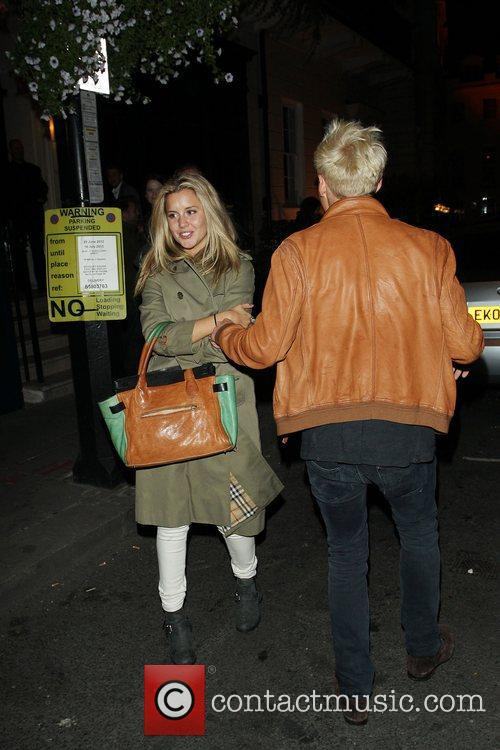Jamie Lang and Caggie Dunlop leave the Storm...