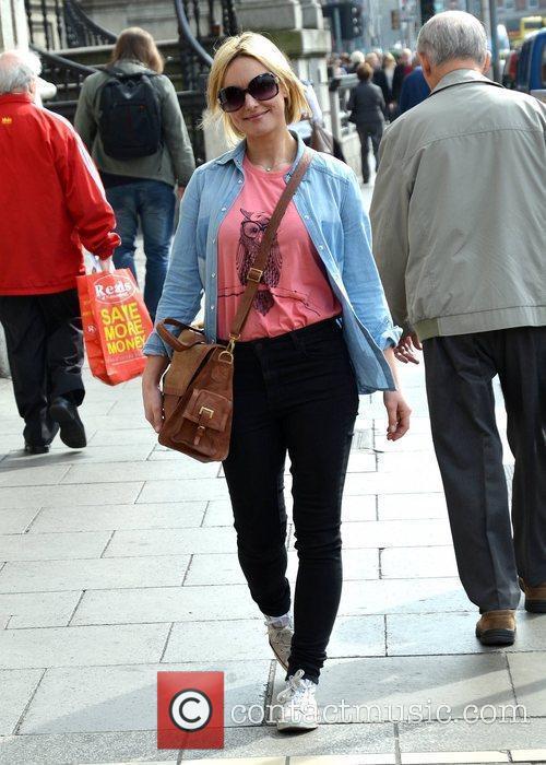 Xpose presenter Kirsteen O'Sullivan Street fashion store Oasis...