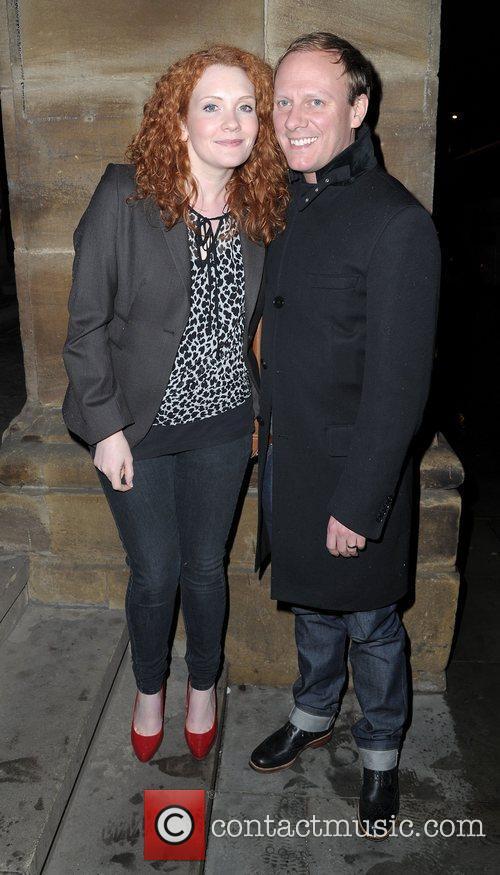 Antony Cotton and Jenny Mcalpine 1