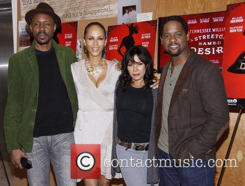 Wood Harris, Blair Underwood, Daphne Rubin-vega and Nicole Ari Parker 6