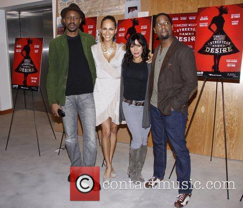 Wood Harris, Blair Underwood, Daphne Rubin-vega and Nicole Ari Parker