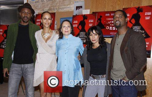 Wood Harris, Blair Underwood, Daphne Rubin-vega, Mann and Nicole Ari Parker 4