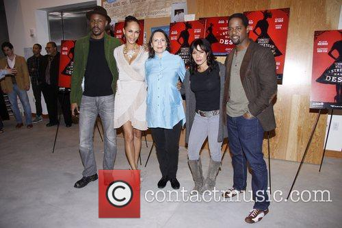 Wood Harris, Blair Underwood, Daphne Rubin-vega, Mann and Nicole Ari Parker 5