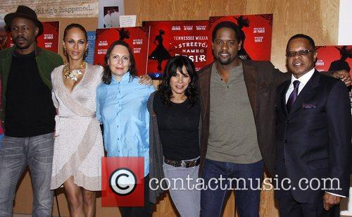 Wood Harris, Blair Underwood, Daphne Rubin-vega, Mann and Nicole Ari Parker 1