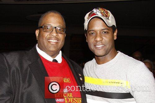 Brian Moore and Blair Underwood