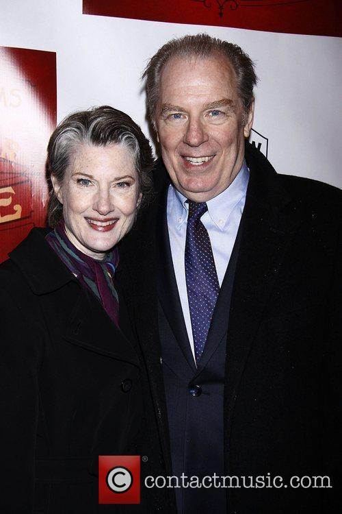 Annette O'Toole and Michael McKean  Broadway opening...