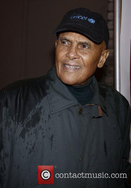 Harry Belafonte  Broadway opening night of 'A...