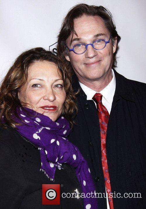 Georgiana Bischoff and Richard Thomas   Broadway...