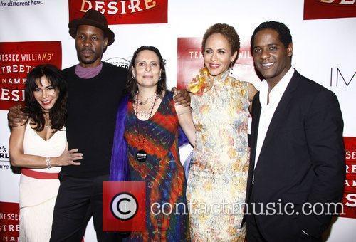 Daphne Rubin-Vega, Wood Harris, Emily Mann, Nicole Ari...