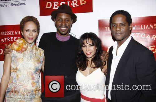 Nicole Ari Parker, Blair Underwood, Daphne Rubin-vega and Wood Harris 2