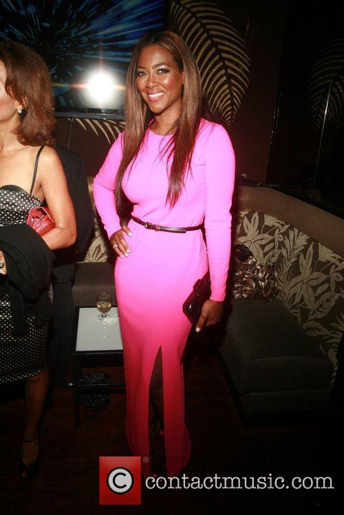 Kenya Moore  Broadway opening night afterparty for...