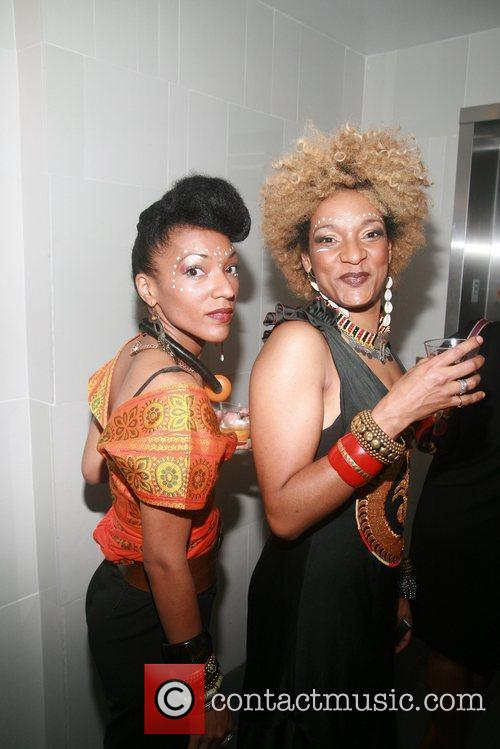 Les Nubians Broadway opening night afterparty for 'A...