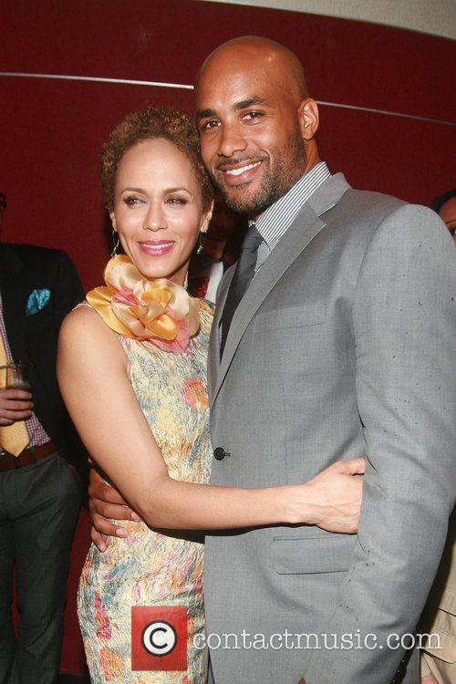 Nicole Ari Parker and Boris Kodjoe 9