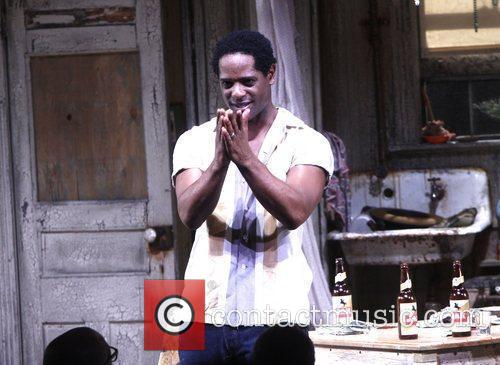 Blair Underwood Broadway opening night of 'A Streetcar...