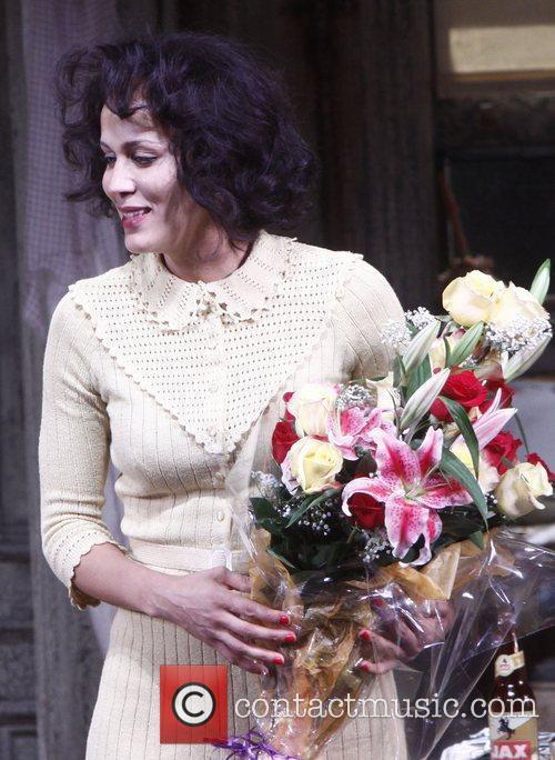 Nicole Ari Parker Broadway opening night of 'A...