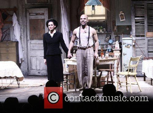 Rosa Evangelina and Jacinto Taras Riddick Broadway opening...
