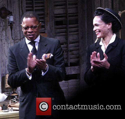 Stephen Byrd and Rosa Evangelina Broadway opening night...