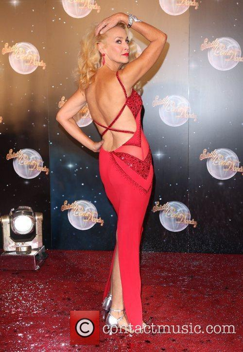 Jerry Hall and Strictly Come Dancing 6
