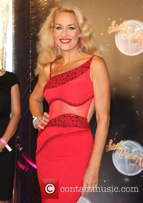 Jerry Hall and Strictly Come Dancing 1