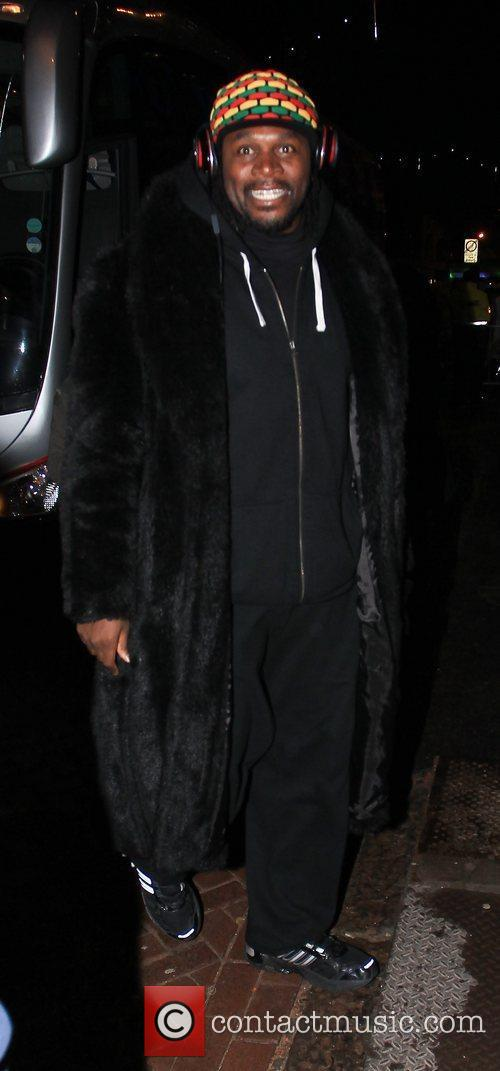 Audley Harrison arrives at 'Strictly Come Dancing' at...
