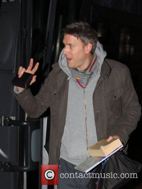 Dan Lobb arrives at 'Strictly Come Dancing' at...