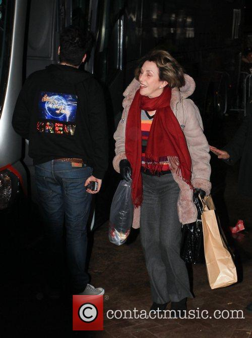 Edwina Currie arrives at 'Strictly Come Dancing' at...