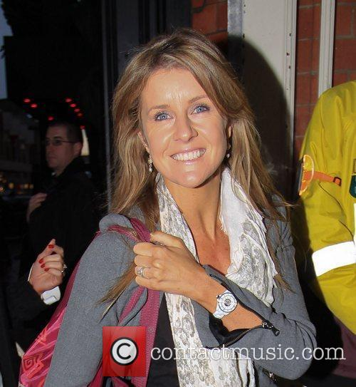 Erin Boag arrives at 'Strictly Come Dancing' at...