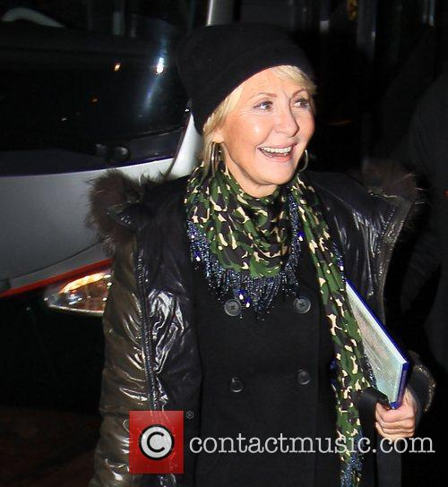 Lulu arrives at 'Strictly Come Dancing' at Blackpool...
