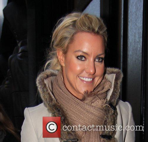 Natalie Lowe arrives at 'Strictly Come Dancing' at...