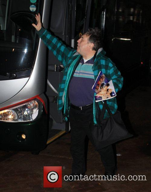 Arrives at 'Strictly Come Dancing' at Blackpool Tower