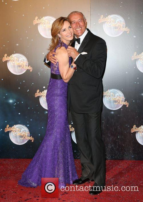 Darcey Bussell and Len Goodman Strictly Come Dancing...