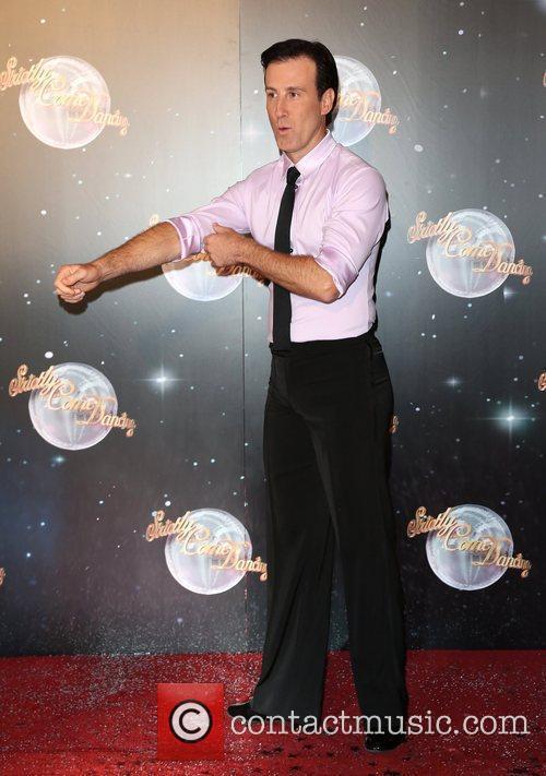 Anton Du Beke Strictly Come Dancing 2012 launch...