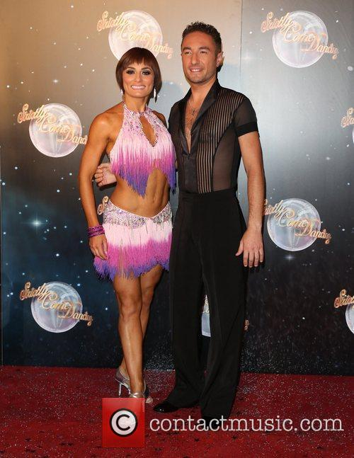 Flavia Cacace and Vincent Simone Strictly Come Dancing...