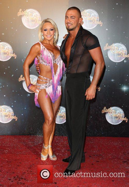 Kristina Rihanoff and Robin Windsor Strictly Come Dancing...