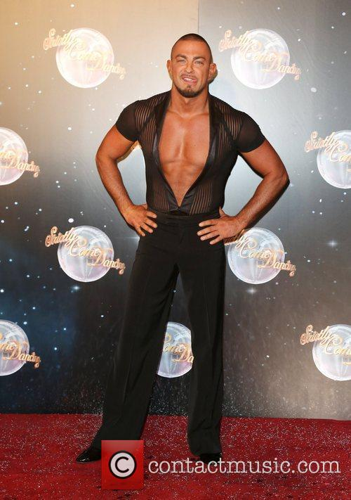 Robin Windsor Strictly Come Dancing 2012 launch -...