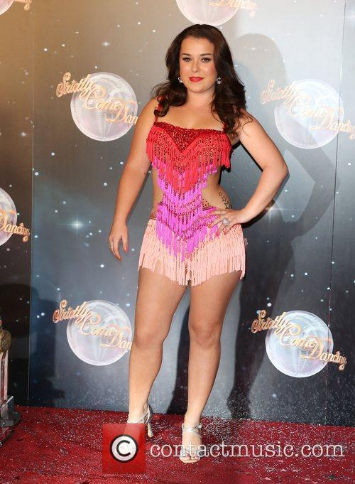 Dani Harmer Strictly Come Dancing 2012 launch -...