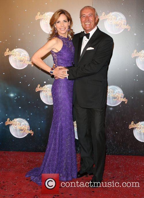 Darcey Bussell and Len Goodman 1