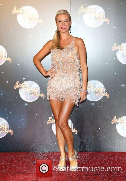 Denise Van Outen Strictly Come Dancing 2012 launch...