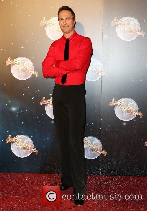 Michael Vaughan Strictly Come Dancing 2012 launch -...