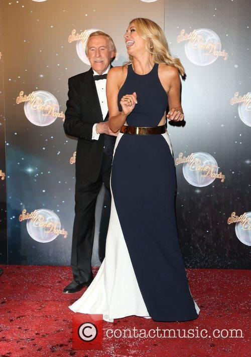 Sir Bruce Forsyth and Tess Daly Strictly Come...