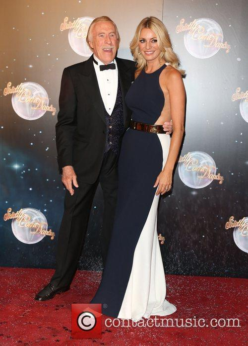 Bruce Forsyth and Tess Daly at 'Strictly Come Dancing' launch