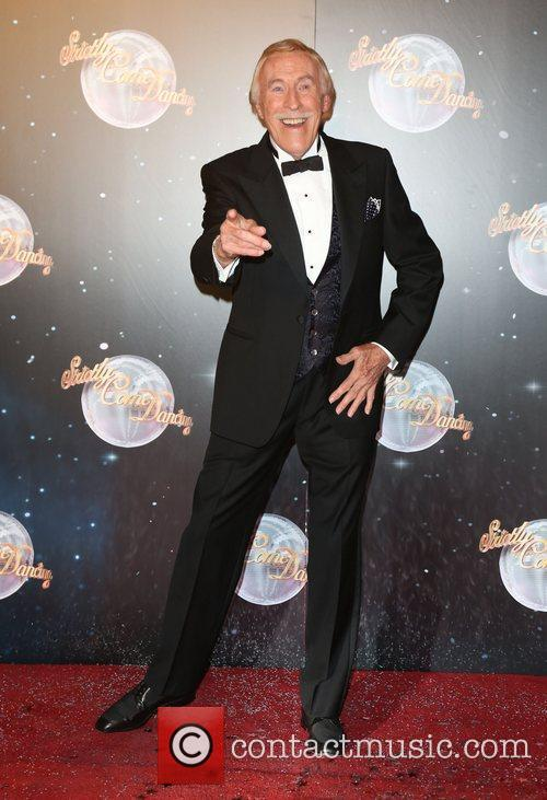 Sir Bruce Forsyth Strictly Come Dancing 2012 launch...