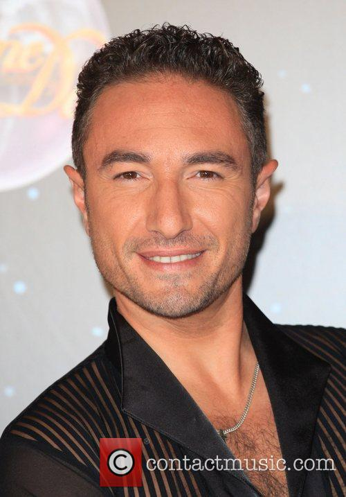 Vincent Simone Strictly Come Dancing 2012 launch -...